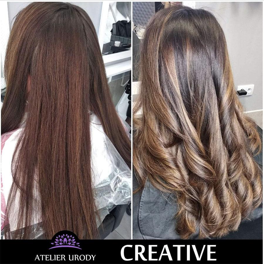 Cudowna Salon fryzjerski - keratynowe prostowanie włosów, przedłużanie PO39