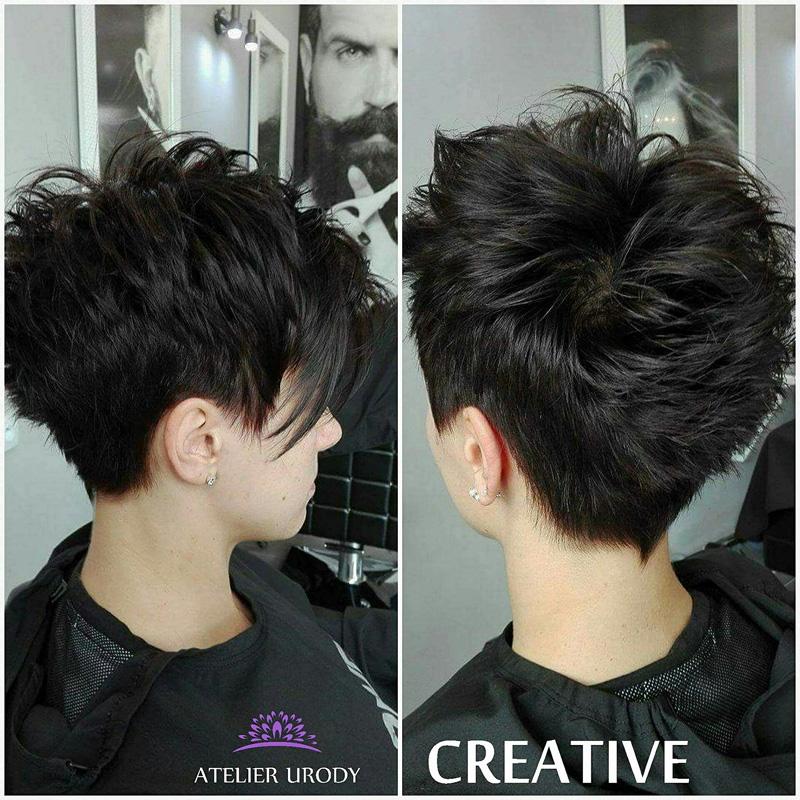 Stylizacja włosów krótkich
